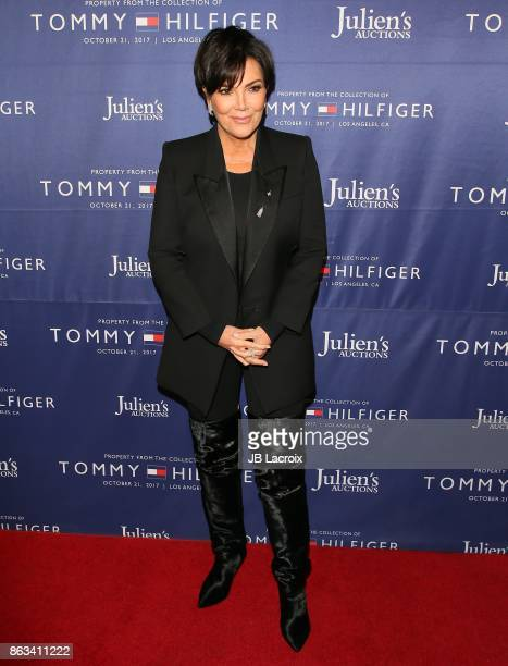 Kris Jenner attends Julien's Auctions and Tommy Hilfiger VIP reception on October 19 2017 in Los Angeles California