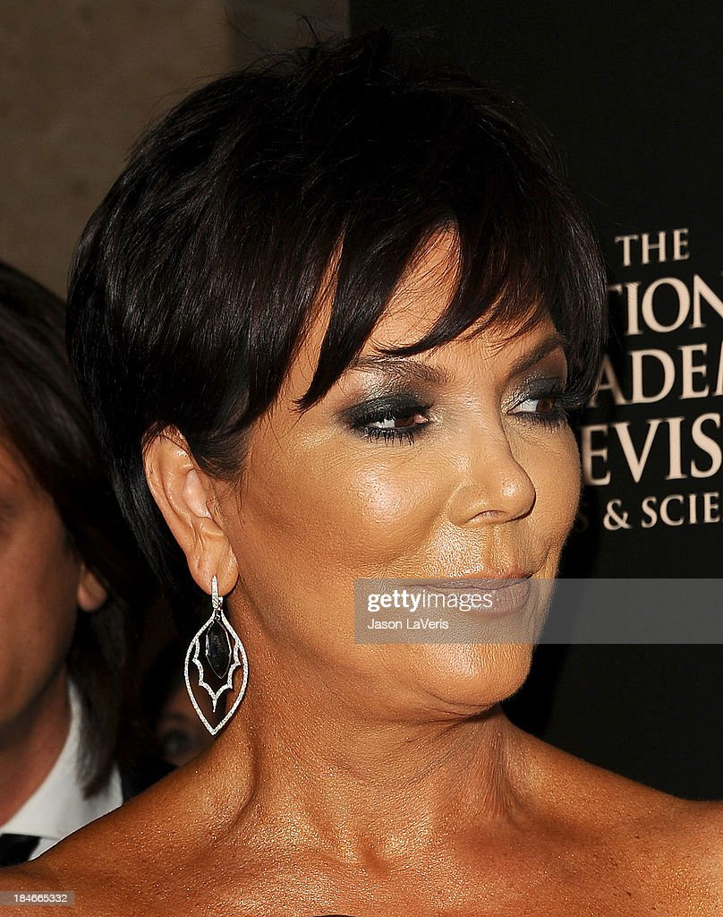 Kris Jenner attends the 40th annual Daytime Emmy Awards at The Beverly Hilton Hotel on June 16, 2013 in Beverly Hills, California.