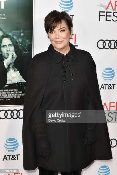 Kris Jenner attends the AFI FEST 2017 Presented By Audi Screening Of 'The Disaster Artist' Arrivals at TCL Chinese Theatre on November 12 2017 in...