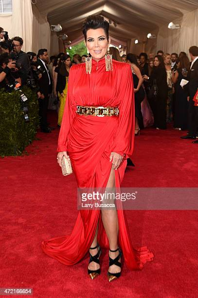 Kris Jenner attends the 'China Through The Looking Glass' Costume Institute Benefit Gala at the Metropolitan Museum of Art on May 4 2015 in New York...