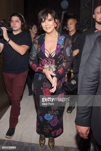 Kris Jenner attends the Daily Front Row's Fashion Media Awards at Four Seasons Hotel New York Downtown on September 8 2017 in New York City