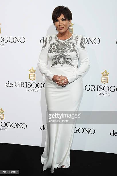 Kris Jenner attends the De Grisogono Party at the annual 69th Cannes Film Festival at Hotel du CapEdenRoc on May 15 2016 in Cap d'Antibes France