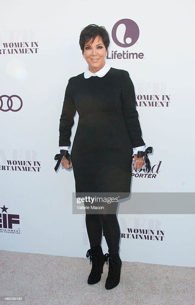 Kris Jenner attends The Hollywood Reporter's 23rd Annual Women In Entertainment Breakfast at Milk Studios on December 10 2014 in Los Angeles...