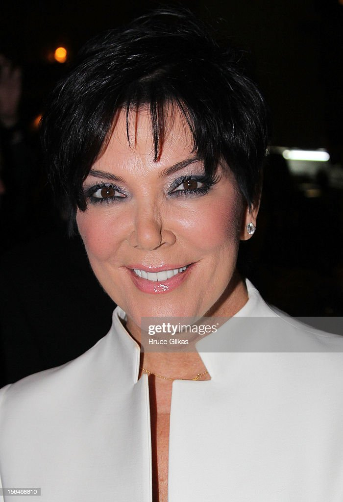 Kris Jenner attends the opening night of 'Scandalous' on Broadway at the Neil Simon Theatre on November 15, 2012 in New York City.