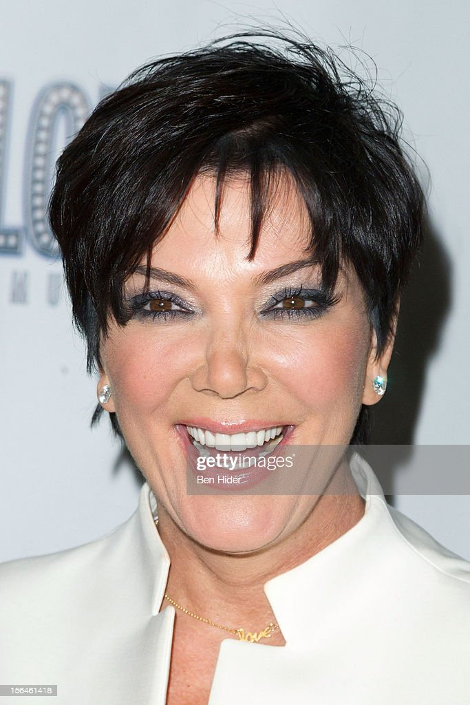 Kris Jenner attends the 'Scandalous' Broadway Opening Night' at Neil Simon Theatre on November 15, 2012 in New York City.