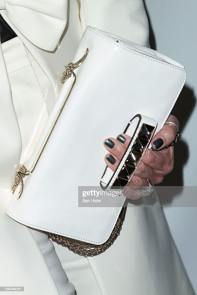 Kris Jenner (purse detail) attends the 'Scandalous' Broadway Opening Night at Neil Simon Theatre on November 15, 2012 in New York City.