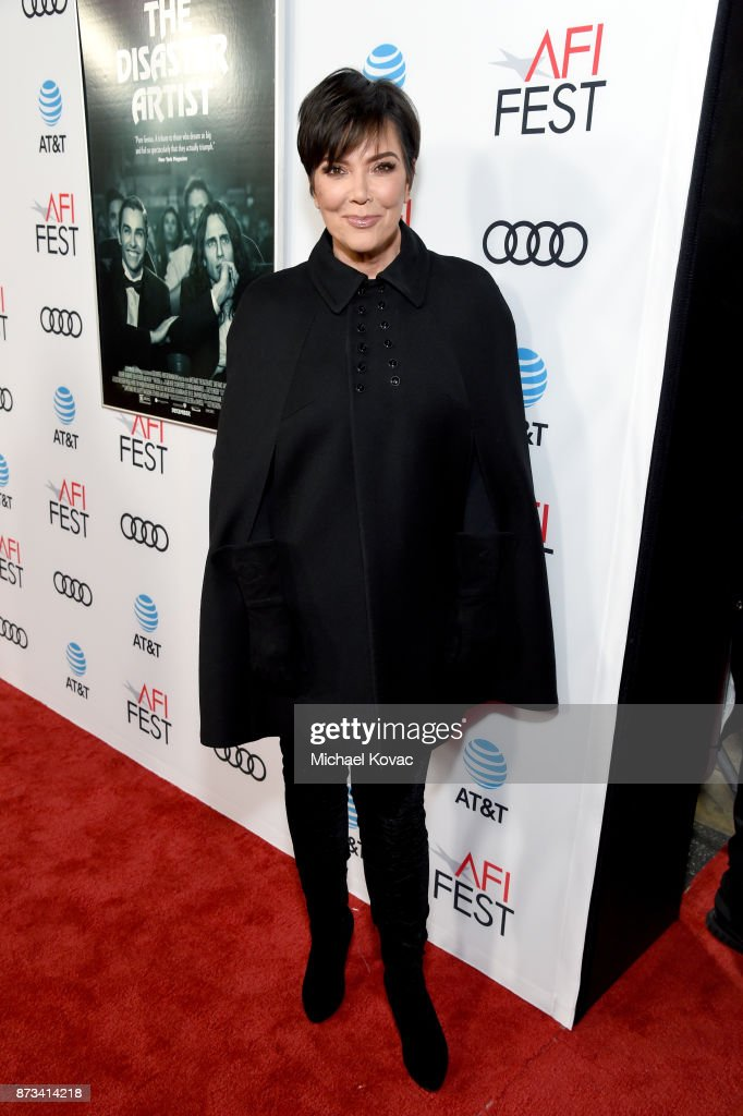 Kris Jenner attends the screening of 'The Disaster Artist' at AFI FEST 2017 Presented By Audi on November 12, 2017 in Hollywood, California.