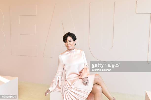 Kris Jenner celebrates The Launch Of KKW Beauty on June 20 2017 in Los Angeles California