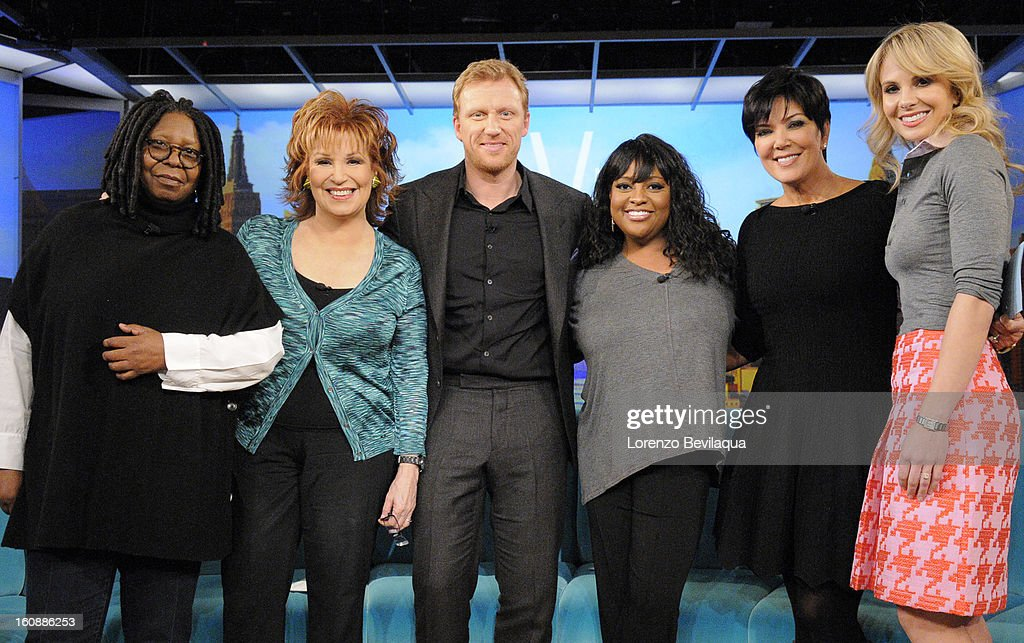 THE VIEW - (2.6.13) Kris Jenner guest co-hosts; Kevin McKidd (ABC's 'Grey's Anatomy'); Musical guest Hunter Hayes; the story of a couple who adopted five Peruvian children. 'The View' airs Monday-Friday (11:00 am-12:00 pm, ET) on the ABC Television Network. HASSELBECK