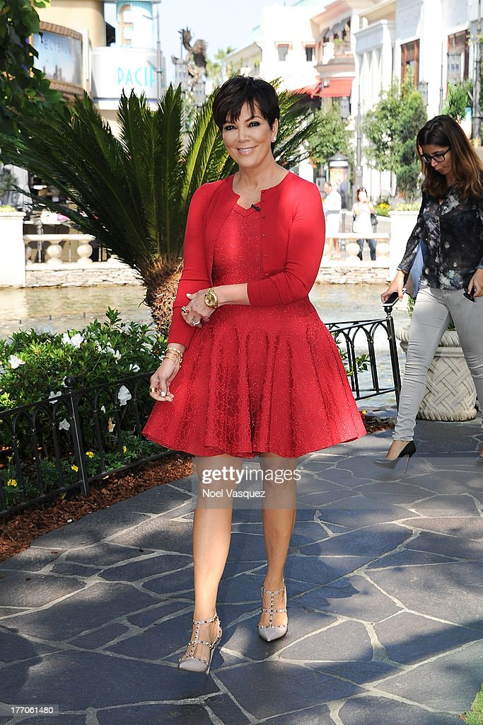 <a gi-track='captionPersonalityLinkClicked' href=/galleries/search?phrase=Kris+Jenner&family=editorial&specificpeople=762610 ng-click='$event.stopPropagation()'>Kris Jenner</a> is sighted at The Grove on August 20, 2013 in Los Angeles, California.