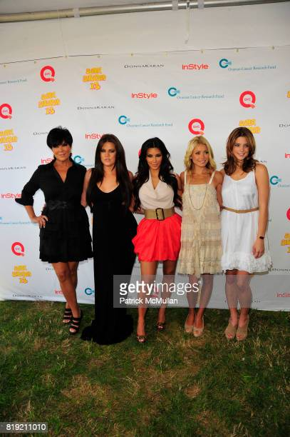 Kris Jenner Khloe Kardashian Kim Kardashian Kelly Ripa and Ashley Greene attend Donna Karan Ariel Foxman InStyle Along With Kelly Ripa Ashley Greene...