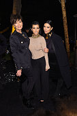 Kris Jenner Kourtney Kardashian and Kim Kardashian West attend Olivier Rousteing Beats Celebrate In Los Angeles at Private Residence on October 23...