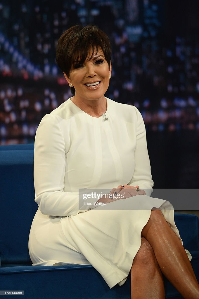 <a gi-track='captionPersonalityLinkClicked' href=/galleries/search?phrase=Kris+Jenner&family=editorial&specificpeople=762610 ng-click='$event.stopPropagation()'>Kris Jenner</a> visits 'Late Night With Jimmy Fallon' at Rockefeller Center on July 9, 2013 in New York City.