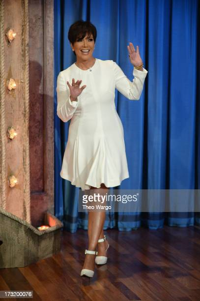 Kris Jenner visits 'Late Night With Jimmy Fallon' at Rockefeller Center on July 9 2013 in New York City