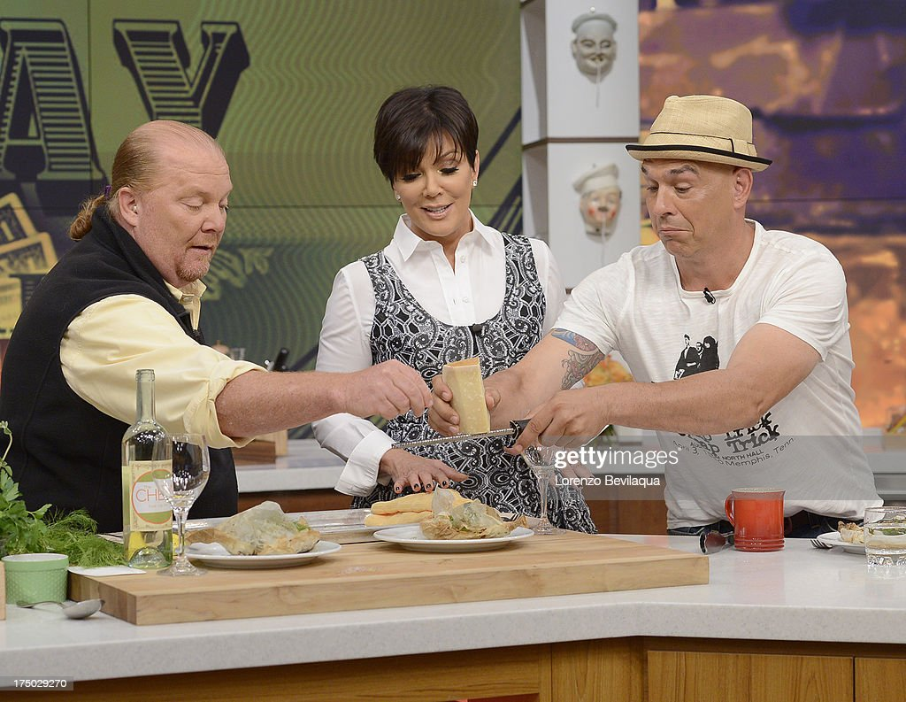 THE CHEW - Kris Jenner visits 'The Chew' on Friday, August 2, 2013. 'The Chew' airs MONDAY - FRIDAY (1-2pm, ET) on the ABC Television Network. SYMON