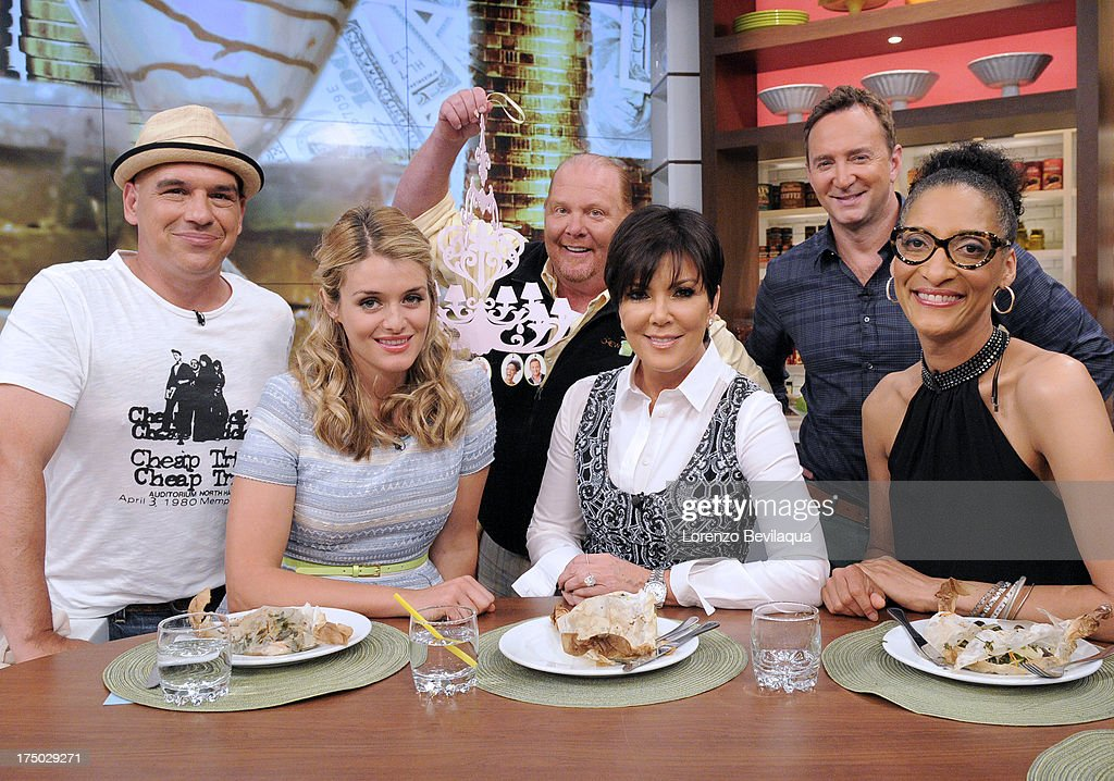 THE CHEW - Kris Jenner visits 'The Chew' on Friday, August 2, 2013. 'The Chew' airs MONDAY - FRIDAY (1-2pm, ET) on the ABC Television Network. HALL