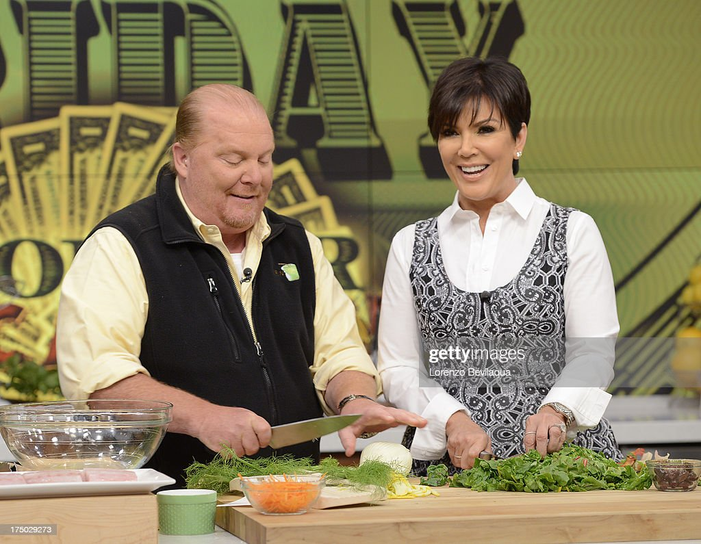 THE CHEW - Kris Jenner visits 'The Chew' on Friday, August 2, 2013. 'The Chew' airs MONDAY - FRIDAY (1-2pm, ET) on the ABC Television Network. JENNER