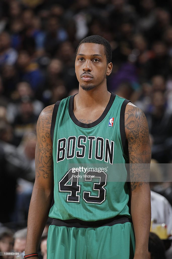 Kris Joseph of the Boston Celtics in a game against the Golden State Warriors on December 29 2012 at Oracle Arena in Oakland California NOTE TO USER...