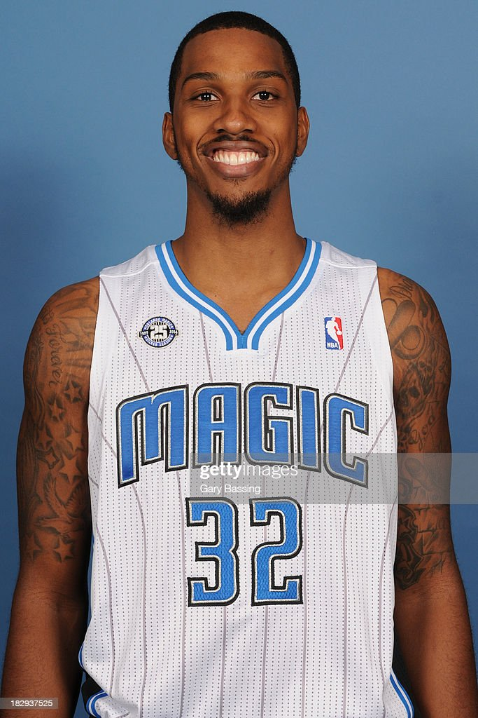 Kris Joseph of the Orlando Magic poses for a picture during Media Day on September 30 2013 at Amway Center in Orlando Florida NOTE TO USER User...