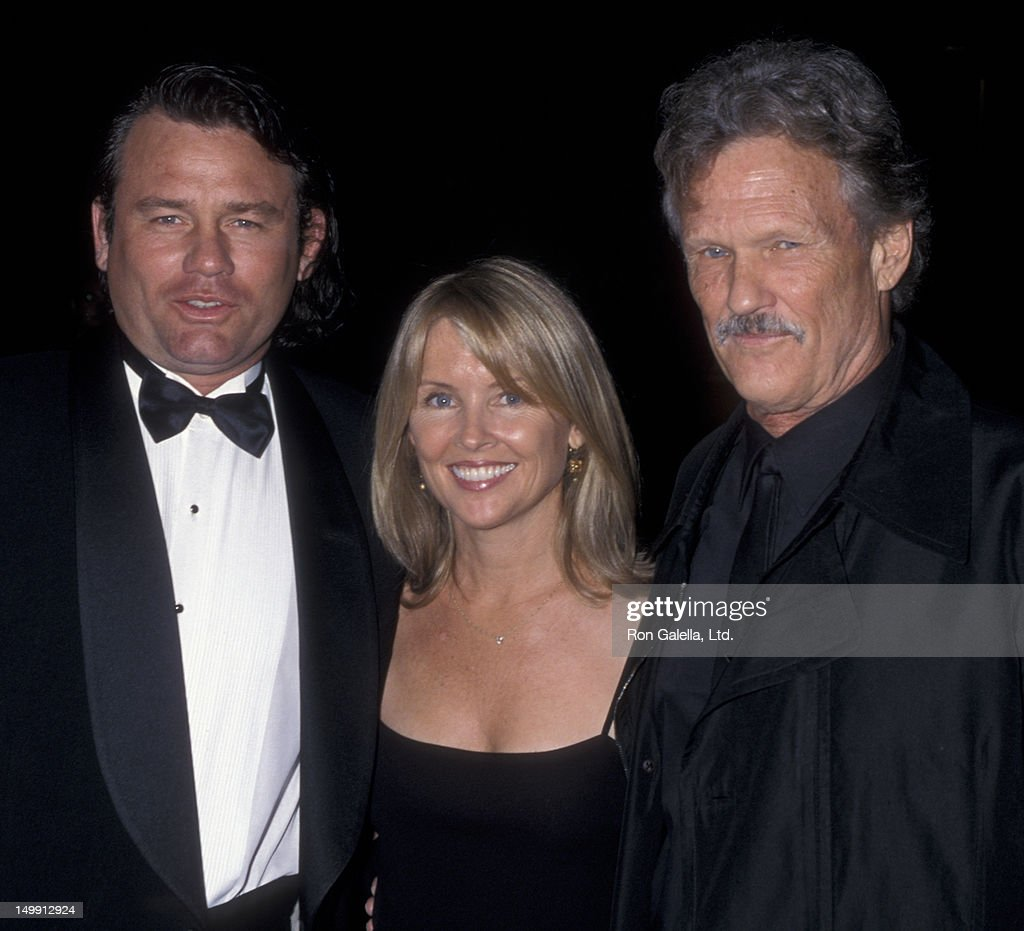 Kris Kristofferson, daughter Tracy Kristofferson and husband Richard Tyson attend Nineth Annual Diversity Awards on November 17, 2001 at Hollywood Highlands Ballroom in Hollywood, California.