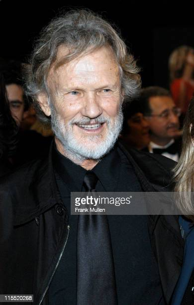 Kris Kristofferson during 2003 BMI Country Music Awards at BMI Nashville in Nashville Tennessee United States