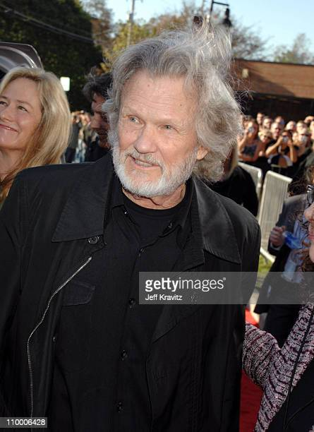 Kris Kristofferson during 2007 CMT Music Awards Red Carpet at The Curb Event Center at Belmont University in Nashville Tennessee United States