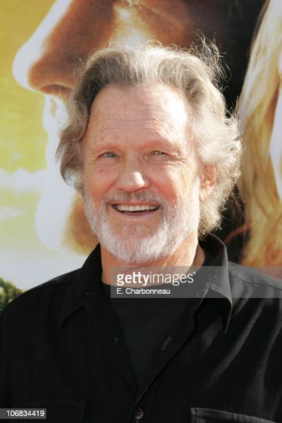 Kris Kristofferson during DreamWorks Pictures' 'Dreamer Inspired by a True Story' Los Angeles Premiere Red Carpet at Mann Village Theatre in Westwood...