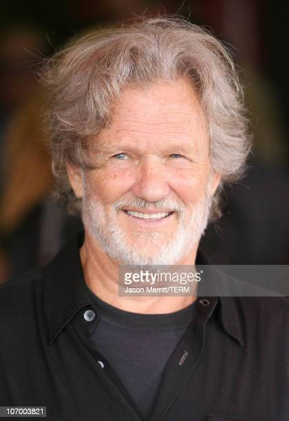 Kris Kristofferson during Kris Kristofferson and Waylon Jennings Inducted into Hollywood Rockwalk July 6 2006 at Guitar Center in Hollywood...