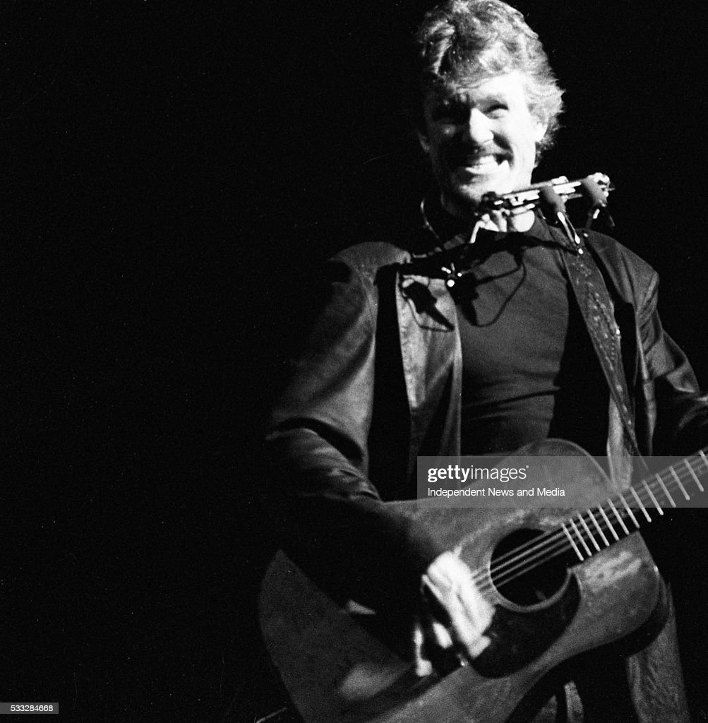 Kris Kristofferson performing at the Olympia Theatre Dublin