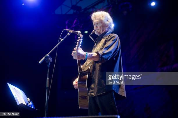 Kris Kristofferson performs on stage during Pedralbes Festival at Jardins Palau de Pedralbes on June 26 2017 in Barcelona Spain