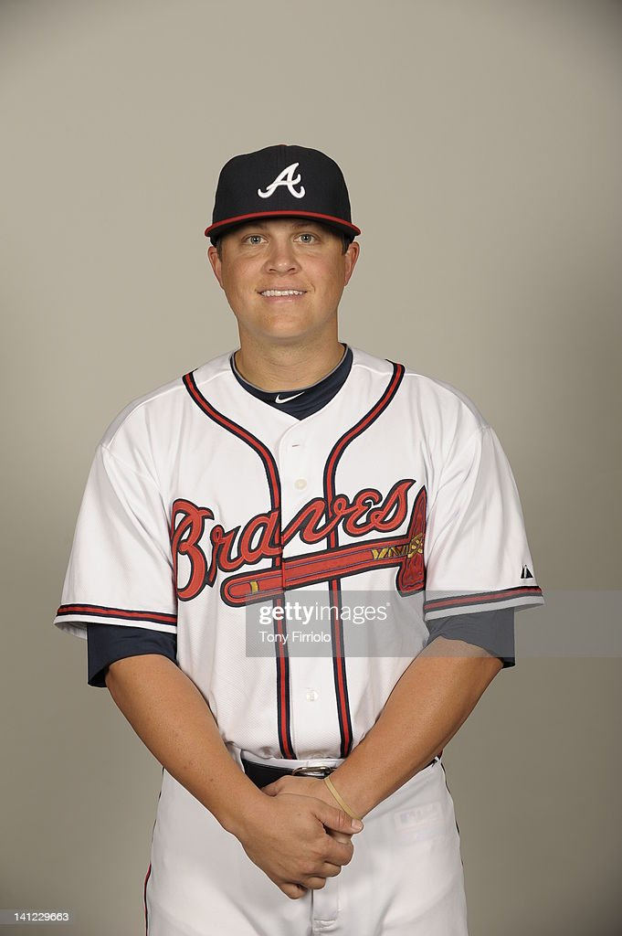 <a gi-track='captionPersonalityLinkClicked' href=/galleries/search?phrase=Kris+Medlen&family=editorial&specificpeople=5743982 ng-click='$event.stopPropagation()'>Kris Medlen</a> (54) of the Atlanta Braves poses during Photo Day on Wednesday, February 29, 2012 at Champion Stadium in Lake Buena Vista, Florida.
