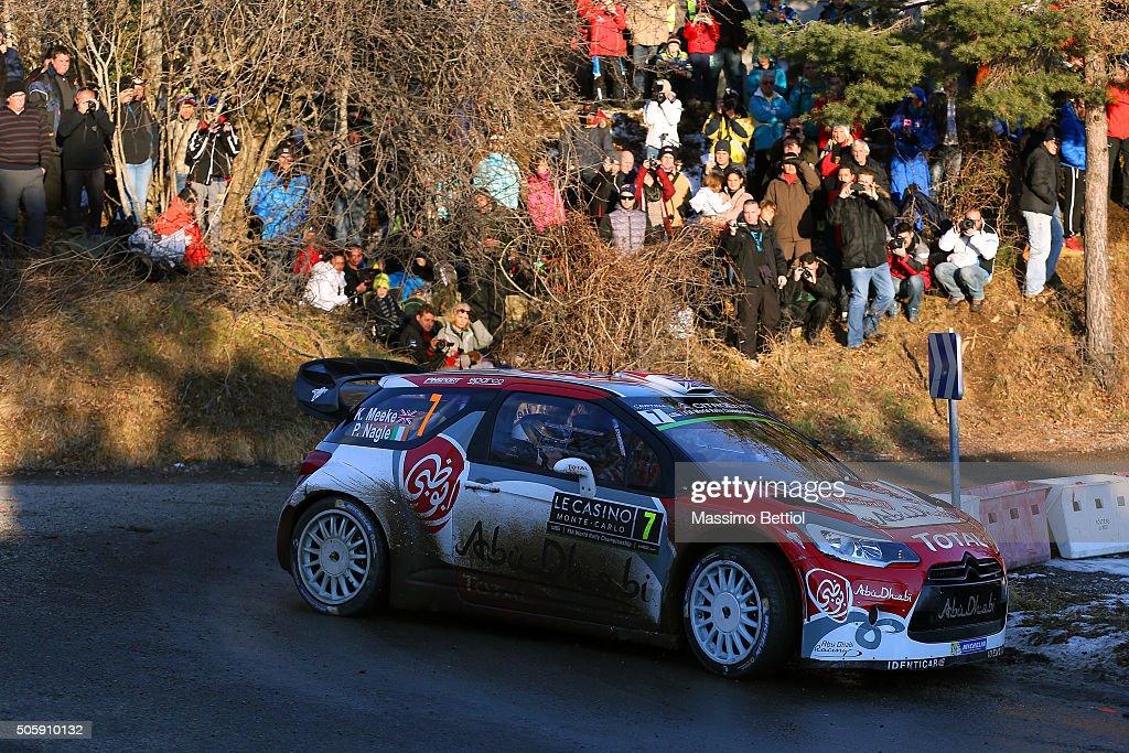 FIA World Rally Championship Monte-Carlo -  Shakedown