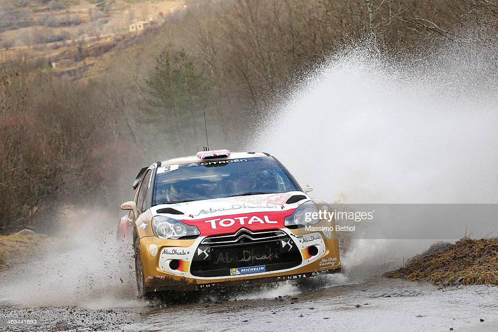 FIA World Rally Championship Monte-Carlo - Day Two