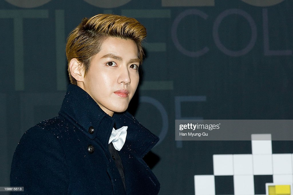 Kris of boy band EXO-M arrives at the 2012 SBS Korea Pop Music Festival named 'The Color Of K-Pop' at Korea University on December 29, 2012 in Seoul, South Korea.