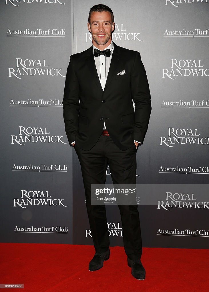 <a gi-track='captionPersonalityLinkClicked' href=/galleries/search?phrase=Kris+Smith&family=editorial&specificpeople=5623091 ng-click='$event.stopPropagation()'>Kris Smith</a> attends the Gala Launch event to celebrate the new Australian Turf Club Grandstand at Royal Randwick Racecourse on October 10, 2013 in Sydney, Australia.