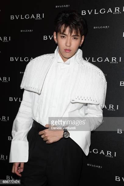 Kris Wu attends Bvlgari press Breakfast At Baselworld 2017 on March 23 2017 in Basel Switzerland