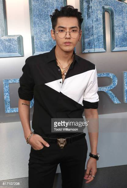 Kris Wu attends the premiere of EuropaCorp And STX Entertainment's 'Valerian And The City Of A Thousand Planets' at TCL Chinese Theatre on July 17...