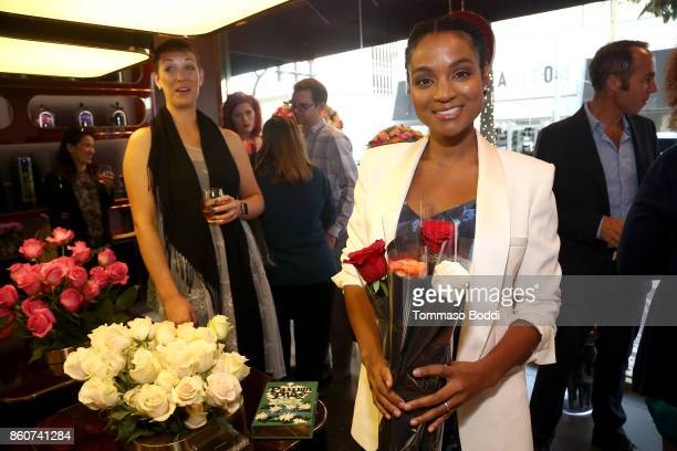 Krishna Daly attends the Tracy Paul Company for Only Roses Launch Beverly Hills on October 12 2017 in Los Angeles California