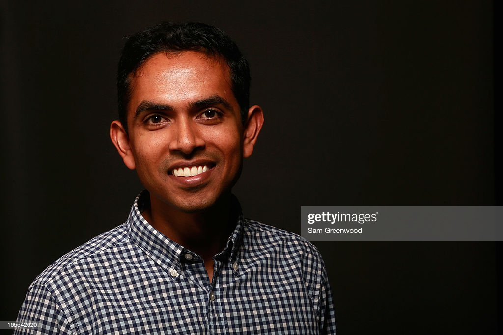 Krishna Kantheti, VP of Business Development, WME poses at the World Congress Of Sports Executive Portrait Studio on April 4, 2013 in Naples, Florida.