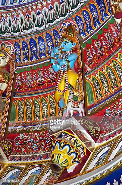 Krishna statue in Sita Ram Ji Temple, Jaipur, India