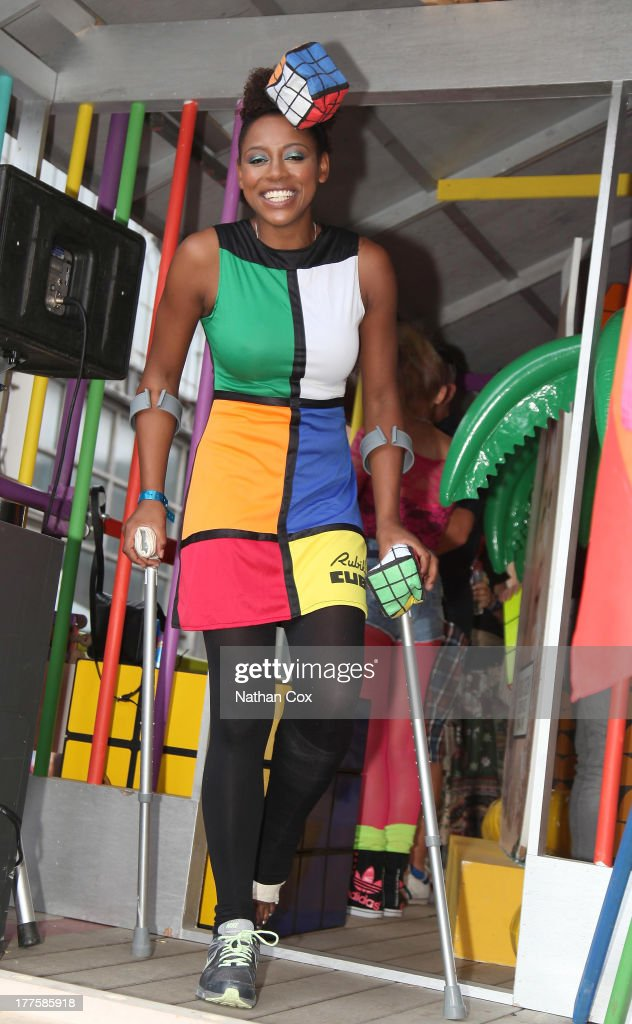 Krissi Bohn attends Manchester Pride on August 24, 2013 in Manchester, England.