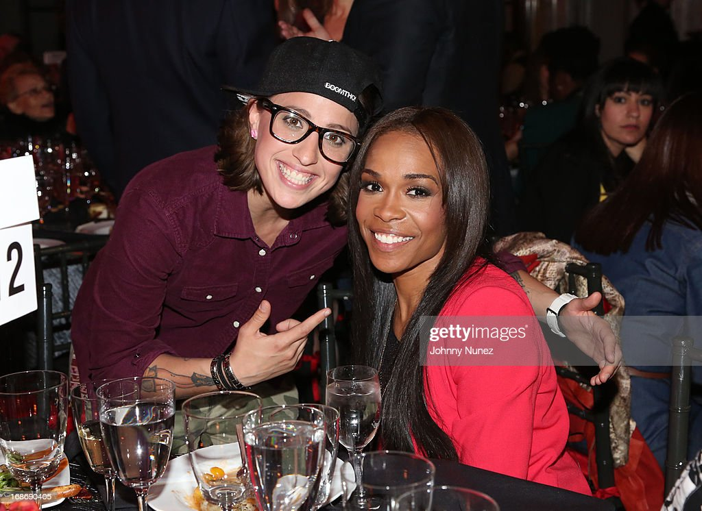 Krissy Krissy and Michelle Williams attend 2013 SESAC Pop Music Awards at New York Public Library on May 13, 2013 in New York City.