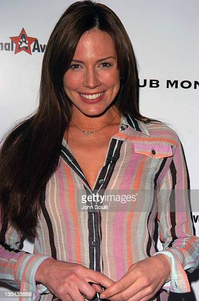 Krista Allen during Club Monaco Hosts Animal Avengers Charity Party at Club Monaco Beverly Hills in Beverly Hills California United States