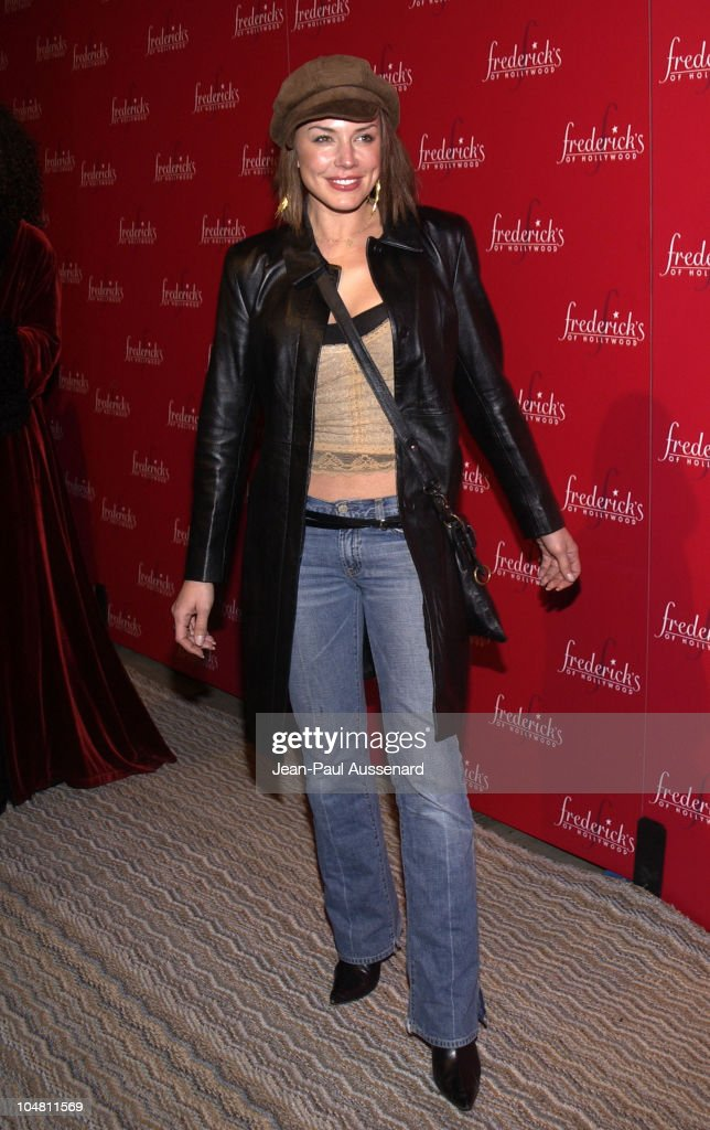 Krista Allen during Frederick's of Hollywood Red Party at Falcon in Hollywood, California, United States.