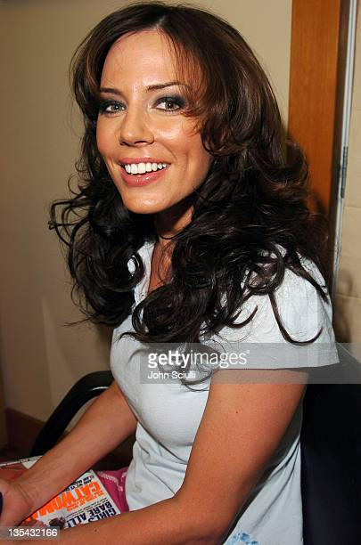 Krista Allen during Garnier Fructis Presents the Fred Segal Beauty Maxim Magazine Hot 100 Salon at Hard Rock Hotel Casino in Las Vegas Nevada United...