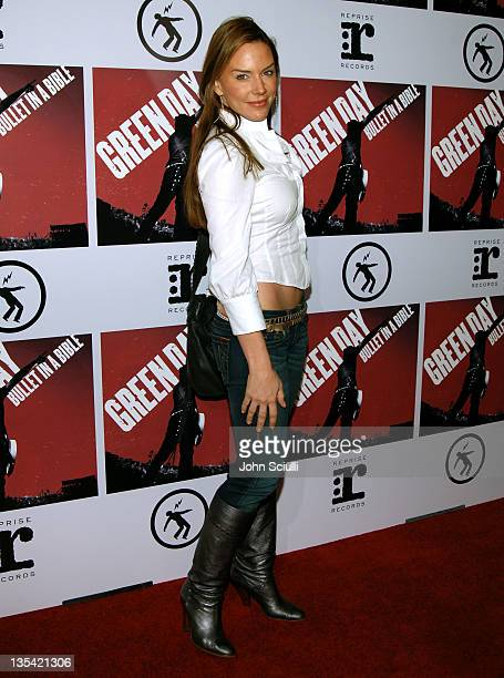 Krista Allen during Green Day's 'Bullet in a Bible' Los Angeles Premiere Arrivals at Arclight Theatre in Hollywood California United States