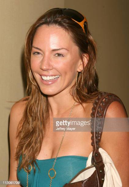 Krista Allen during Jayneoni's PreMTV Movie Awards Birthday and Fashion Bash at Park Hyatt Hotel in Los Angeles California United States