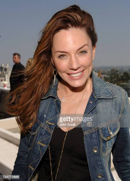 Krista Allen during Jennifer Love Hewitt and Hanes Declare 'Pantimonium' April 29 2006 at Chateau Marmont in Hollywood California United States