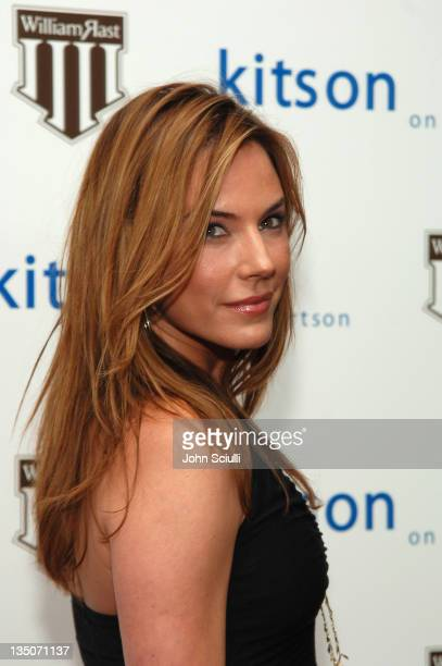 Krista Allen during Justin Timberlake and Trace Ayala in Celebration of Their New Clothing Line 'William Rast' Launch at Kiston in Los Angeles...