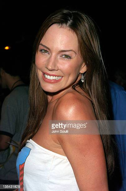 Krista Allen during Playstation 2 Offers A Passage Into 'The Underworld' Red Carpet at Blecsco Theater in Los Angeles California United States